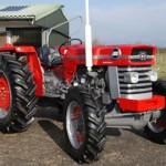 Vinatge tractor