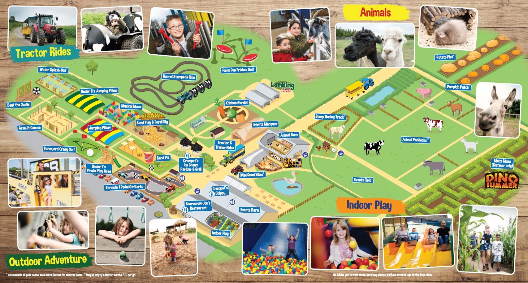 Image of: Cute Round Our Farm Map 123rfcom Animals National Forest Adventure Farm